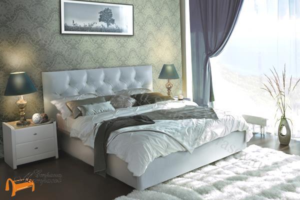 кровать моника аскона фото