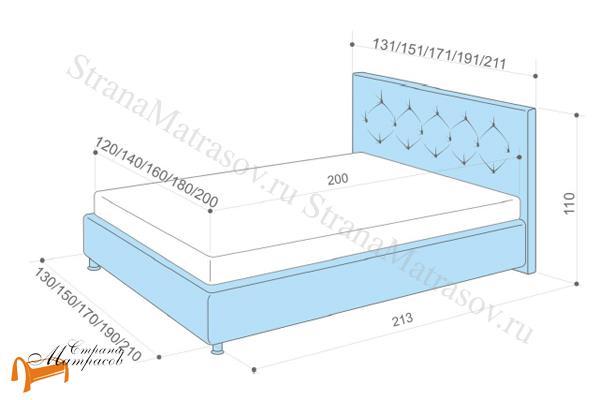 Аскона Кровать двуспальная