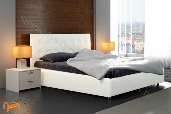 Кровать белую с подъемным механизмом