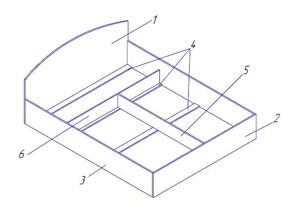 Схема сборки двуспальной кровати фото 647